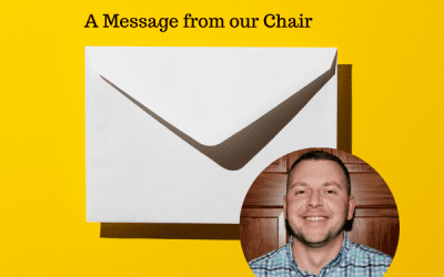 A message from Adam Kronenberger