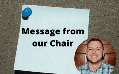 A Message from Adam Kronenberger, 2021 ORG Chair